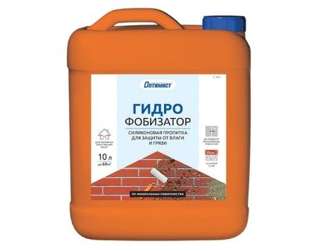Пропитка силиконовая ГИДРОФОБИЗАТОР для защиты от влаги и грязи
